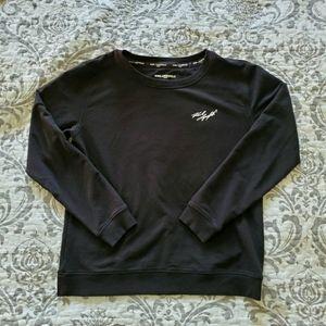 Karl Lagerfeld Black Sweatshirt Size Small